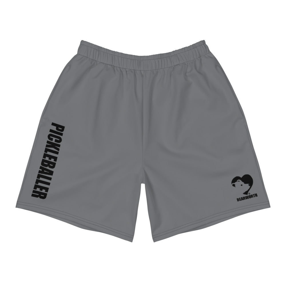 Pickleball Athletic Shorts (Grey)