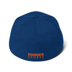 Pickleball Flexfit (Orange) Cap