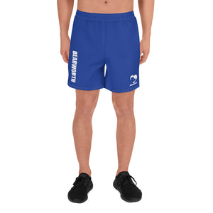 Men's Bear Paw Butt (Blue) Shorts