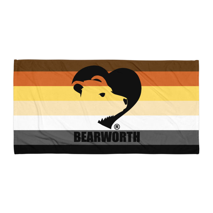 Bearworth Bear Pride Towel