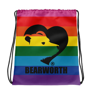 BEARWORTH PRIDE Drawstring Bag