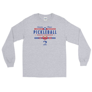 Classic Pickleball (Blue Font) Long Sleeve Tee