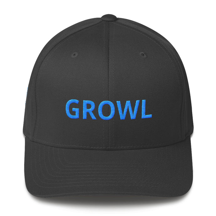 GROWL Flexfit Structured Twill Cap