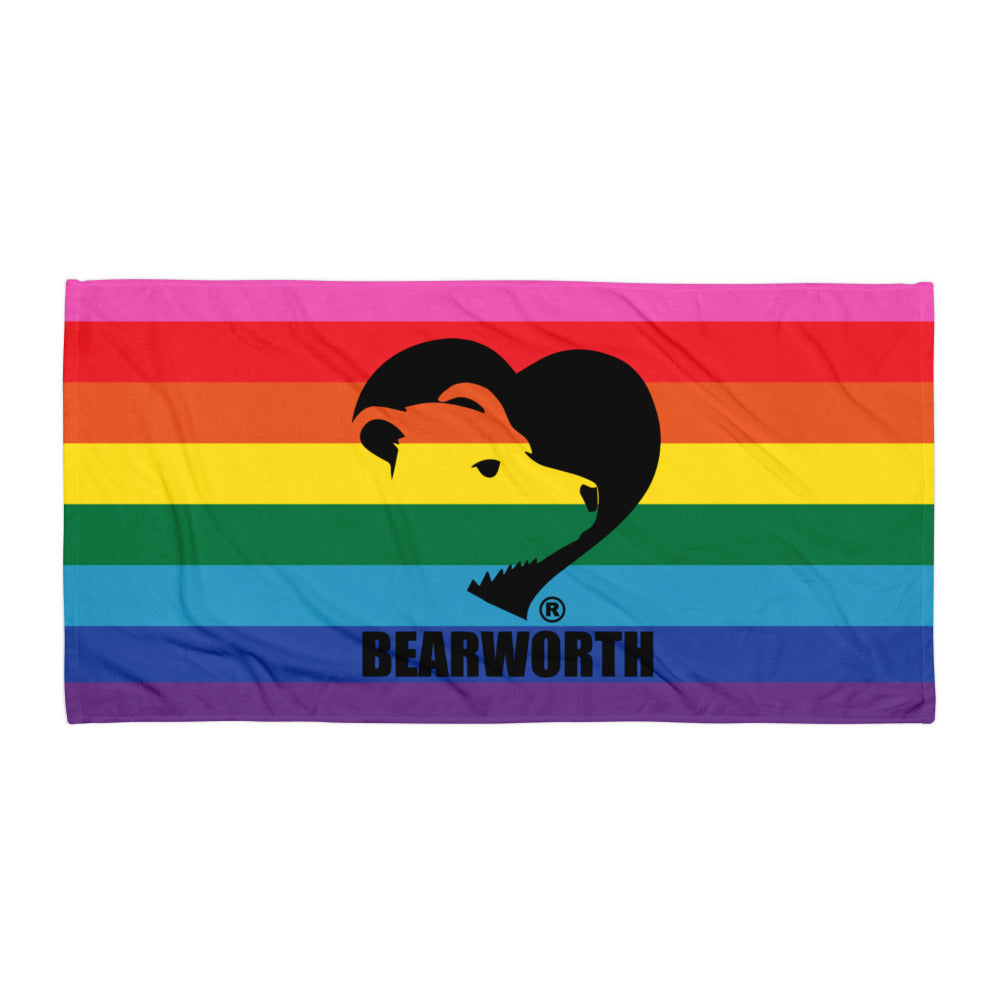 Bearworth Rainbow Towel
