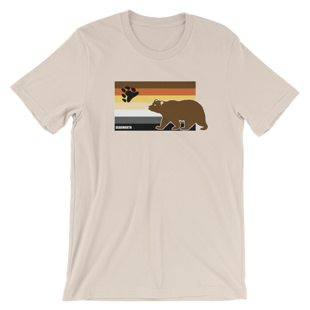 Bear w/ Bear Flag T-Shirt