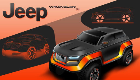 High School Students Imagine the 2030 Jeep Wrangler