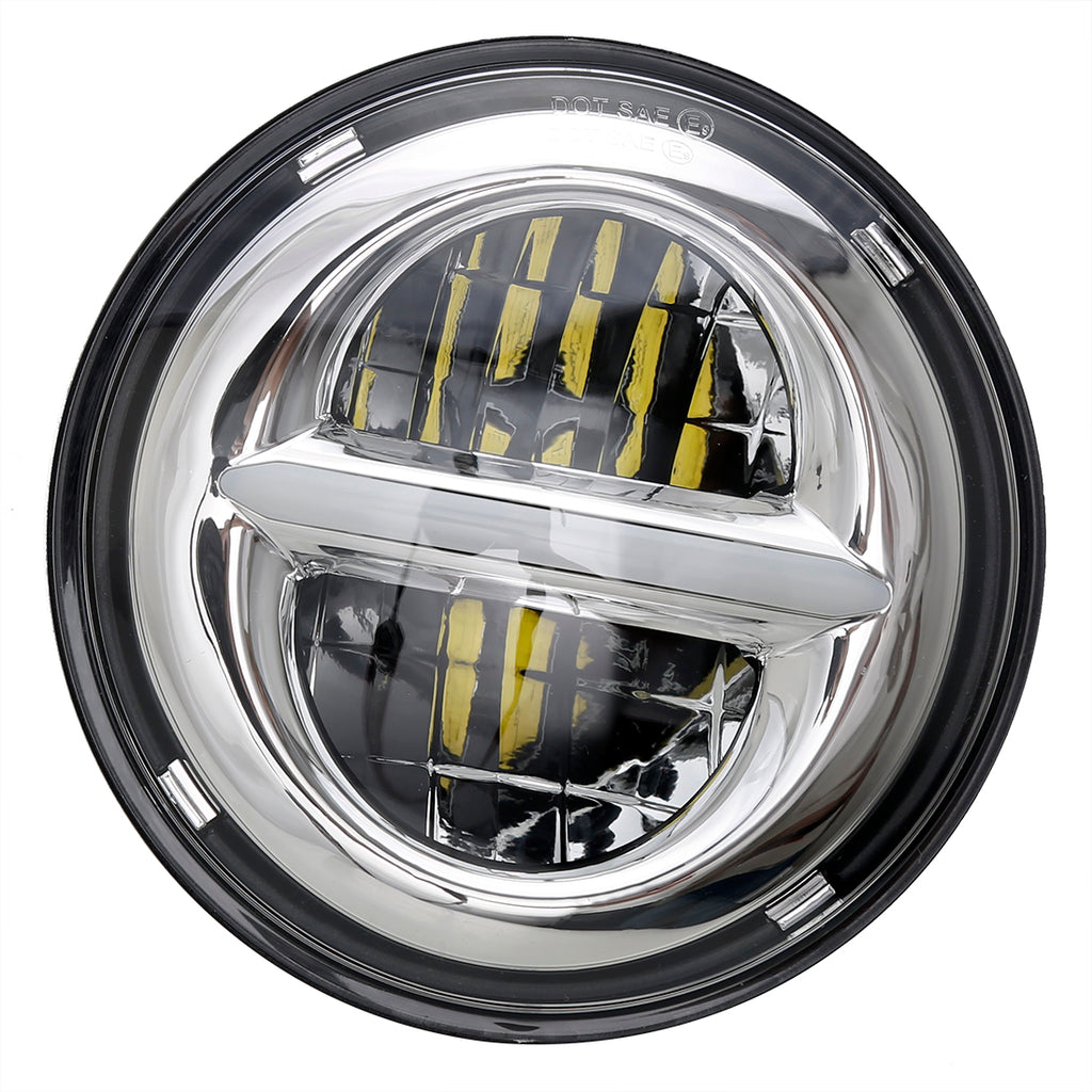 SANYOU 7'' High/Low Beam LED Jeep Headlight for Wrangler/Harley motorcycle