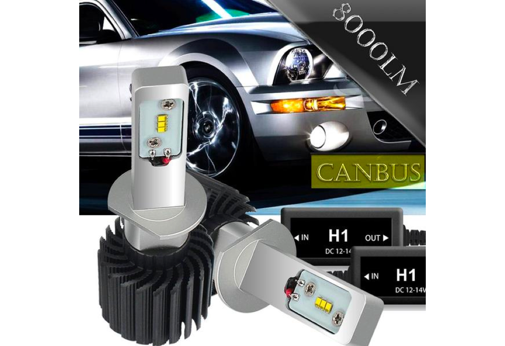 Hot Sale Factory price 4000lm, 25W high power car led headlight\single head lamp with Built in drive,H4 H7 H8/9/11 9005 9006