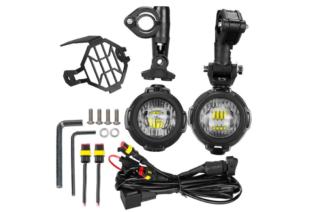 SANYOU Spot LED Auxiliary Fog Light Safety Driving Lamp Motorcycle Fit BMW R1200GS