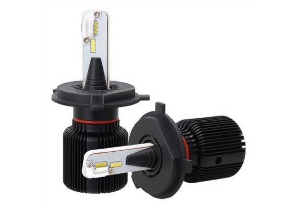SANYOU 30W CSP LED Car Headlight with Fan