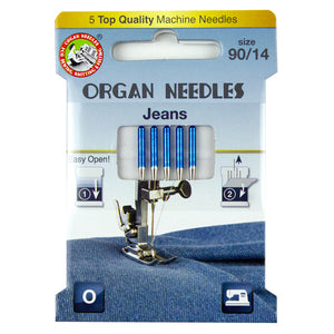 Jeans Size 90, 5 Needles per Eco pack