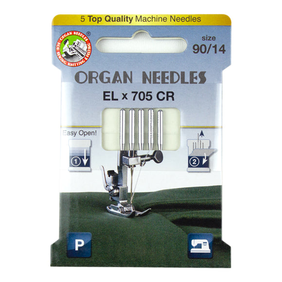 Elx705 Chromium Size 90, 5 Needles per Eco pack