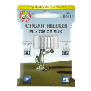 Elx705 Chromium SUK Size 90, 5 Needles per Eco pack