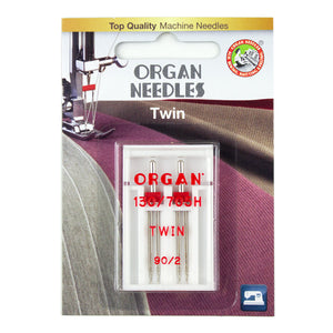 Twin Size 90/2mm, 2 Needles per blister pack