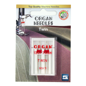 Twin Size 90/3mm, 2 Needles per blister pack
