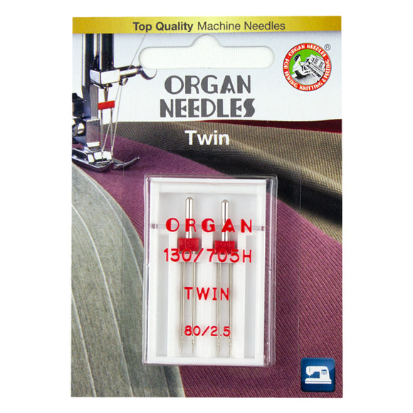Twin Size 80/2.5mm, 2 Needles per blister pack