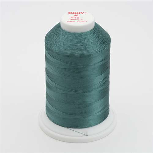 Sulky 40 wt 5500 Yard Rayon Thread - 940-0525 - English Green