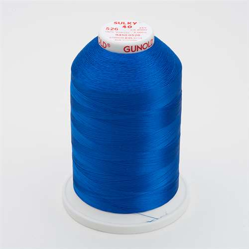 Sulky 40 wt 5500 Yard Rayon Thread - 940-0526 - Cobolt Blue