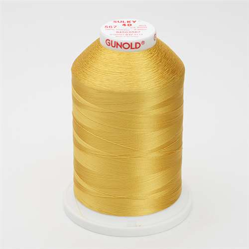 Sulky 40 wt 5500 Yard Rayon Thread - 940-0567 - Butterfly Gold