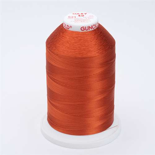 Sulky 40 wt 5500 Yard Rayon Thread - 940-0621 - Sunset