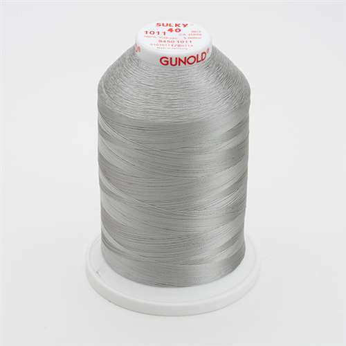 Sulky 40 wt 5500 Yard Rayon Thread - 940-1011 - Steel Grey