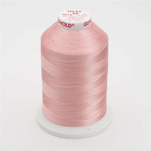 Sulky 40 wt 5500 Yard Rayon Thread - 940-1015 - Med Peach