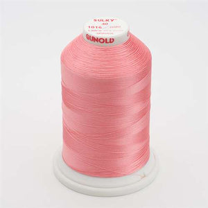 Sulky 40 wt 5500 Yard Rayon Thread - 940-1016 - Pastel Coral