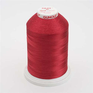Sulky 40 wt 5500 Yard Rayon Thread - 940-1034 - Burgundy