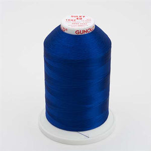 Sulky 40 wt 5500 Yard Rayon Thread - 940-1042 - Bright Navy Blue