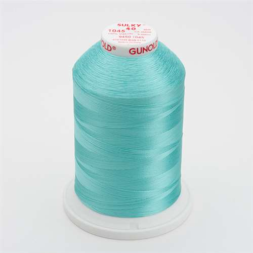Sulky 40 wt 5500 Yard Rayon Thread - 940-1045 - Light Teal