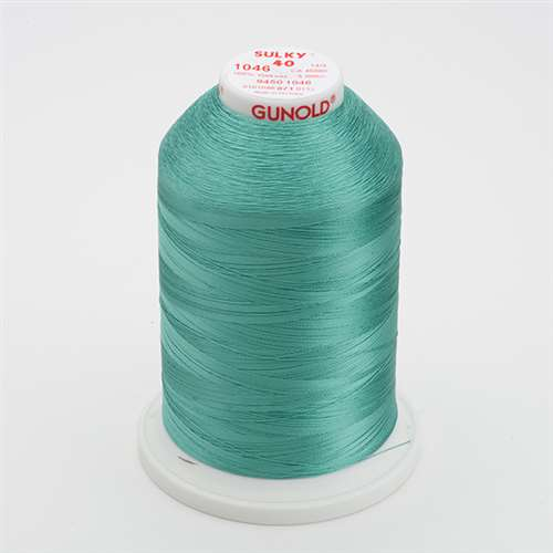 Sulky 40 wt 5500 Yard Rayon Thread - 940-1046 - Teal
