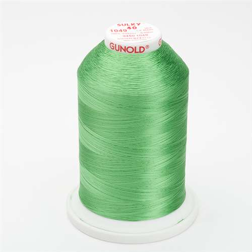 Sulky 40 wt 5500 Yard Rayon Thread - 940-1049 - Grass Green
