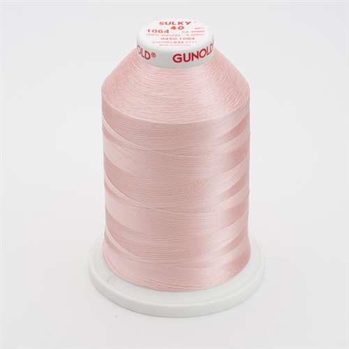Sulky 40 wt 5500 Yard Rayon Thread - 940-1064 - Pale Peach