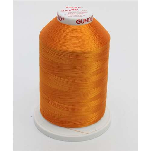 Sulky 40 wt 5500 Yard Rayon Thread - 940-1065 - Orange Yellow