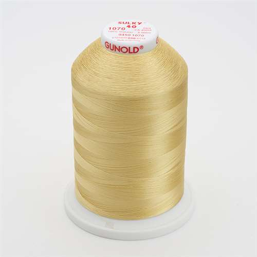 Sulky 40 wt 5500 Yard Rayon Thread - 940-1070 - Gold