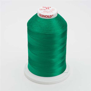 Sulky 40 wt 5500 Yard Rayon Thread - 940-1079 - Emerald Green
