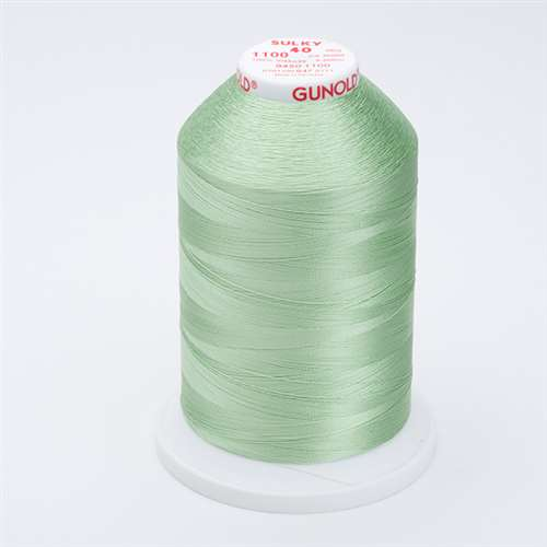 Sulky 40 wt 5500 Yard Rayon Thread - 940-1100 - Light Grass Green