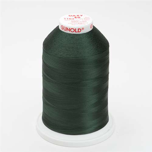 Sulky 40 wt 5500 Yard Rayon Thread - 940-1103 - Dark Khaki