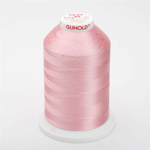 Sulky 40 wt 5500 Yard Rayon Thread - 940-1115 - Light pink