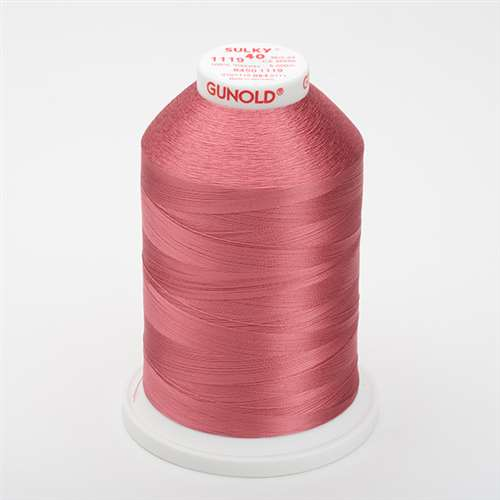Sulky 40 wt 5500 Yard Rayon Thread - 940-1119 - Dark Mauve