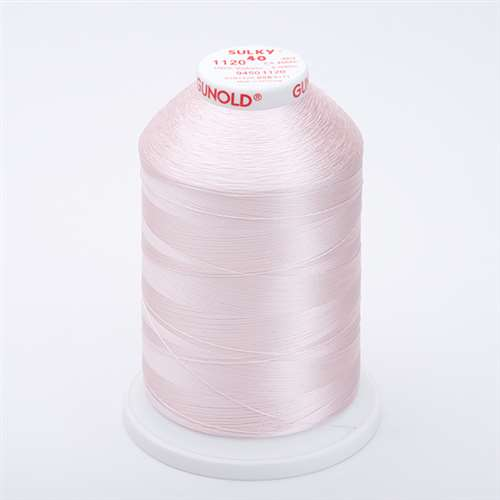 Sulky 40 wt 5500 Yard Rayon Thread - 940-1120 - Pale Pink