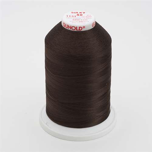 Sulky 40 wt 5500 Yard Rayon Thread - 940-1131 - Cloister Brown