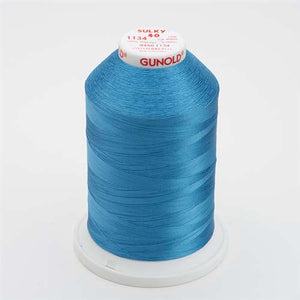 Sulky 40 wt 5500 Yard Rayon Thread - 940-1134 - Peacock Blue