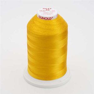 Sulky 40 wt 5500 Yard Rayon Thread - 940-1137 - Yellow orange