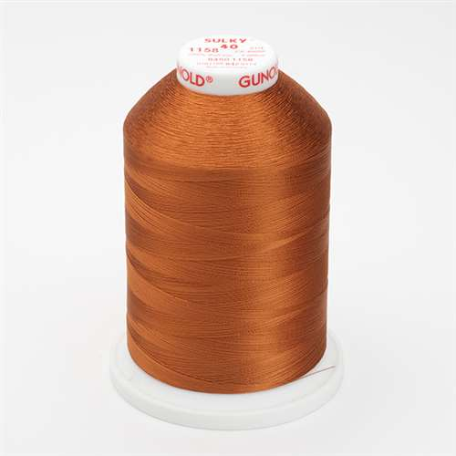Sulky 40 wt 5500 Yard Rayon Thread - 940-1158 - Dark Maple