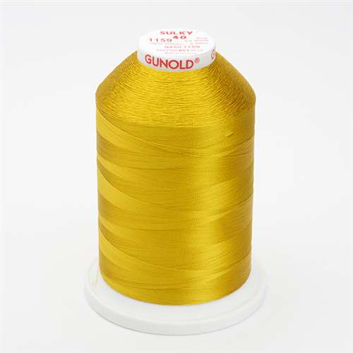 Sulky 40 wt 5500 Yard Rayon Thread - 940-1159 - Temple Gold