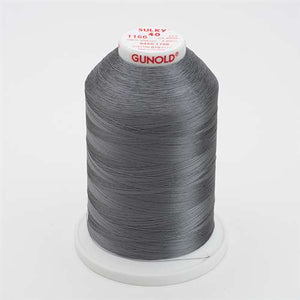 Sulky 40 wt 5500 Yard Rayon Thread - 940-1166 - Med Steel Gray
