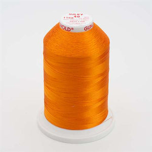 Sulky 40 wt 5500 Yard Rayon Thread - 940-1168 - True Orange