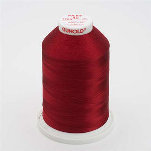 Sulky 40 wt 5500 Yard Rayon Thread - 940-1169 - Bayberry Red