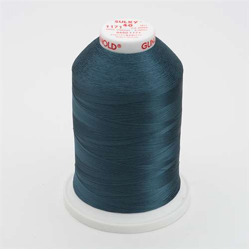 Sulky 40 wt 5500 Yard Rayon Thread - 940-1171 - Weathered Blue